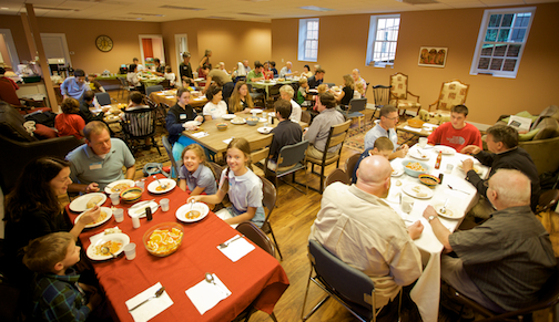 Our parish switched from Sunday School to a Wednesday evening gathering in 2012.