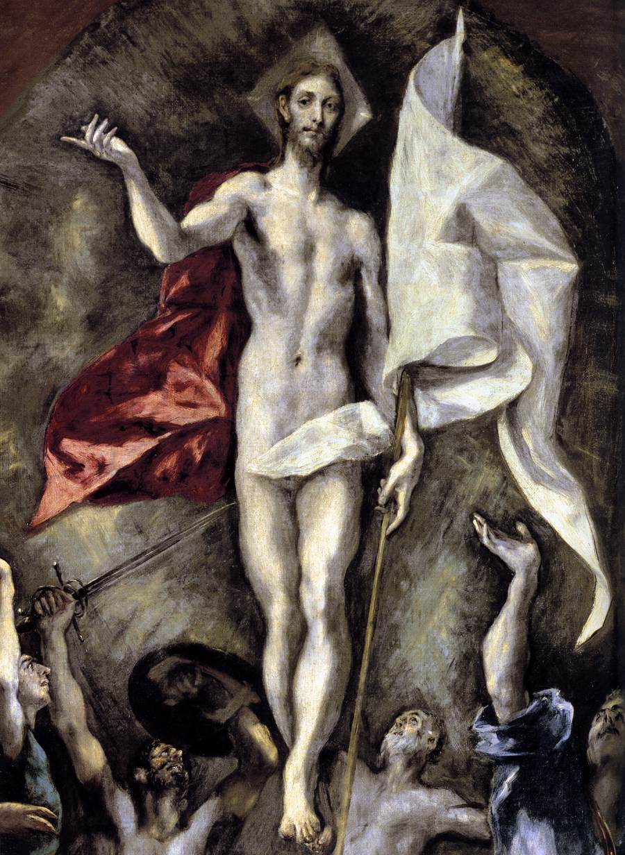 The Resurrection - El Greco 1596