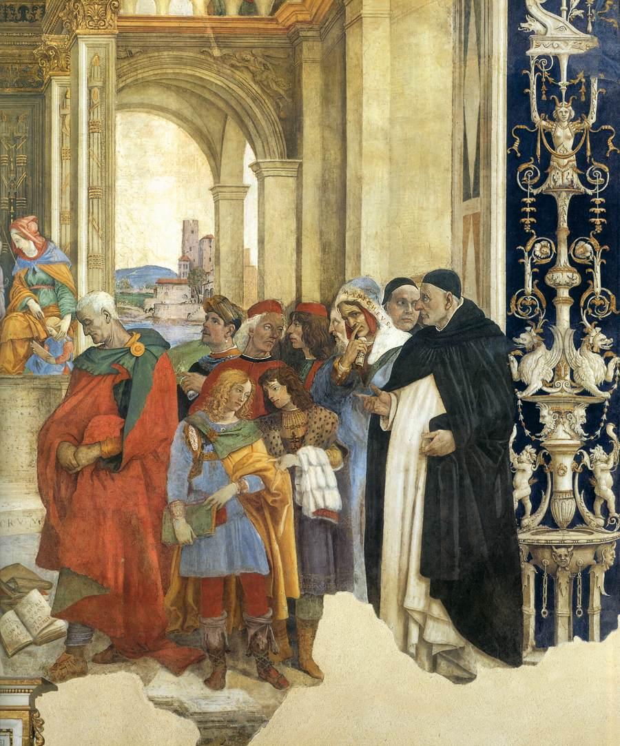 Triumph of Thomas over the Heretics