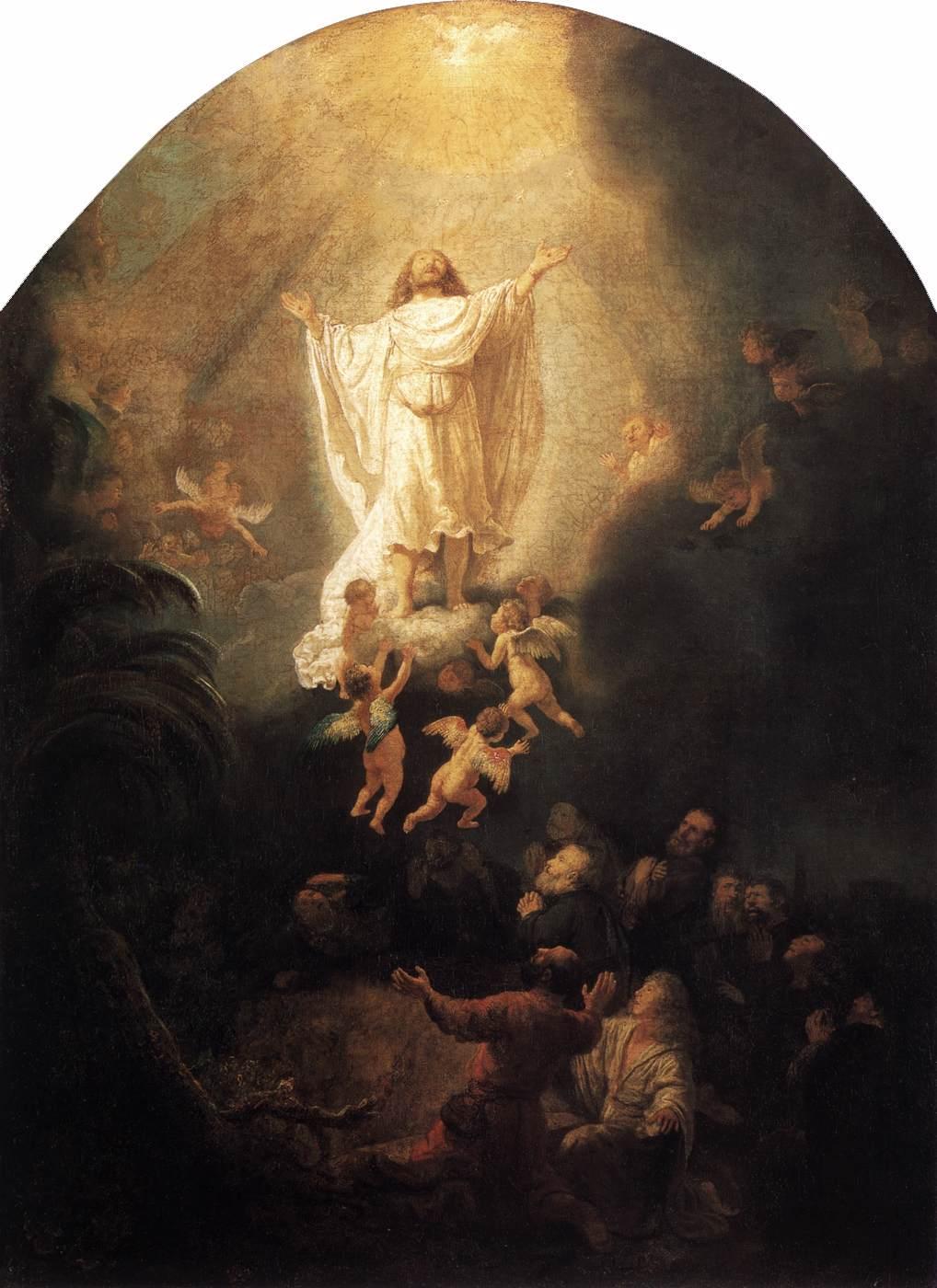 The Ascension - Rembrandt  1636