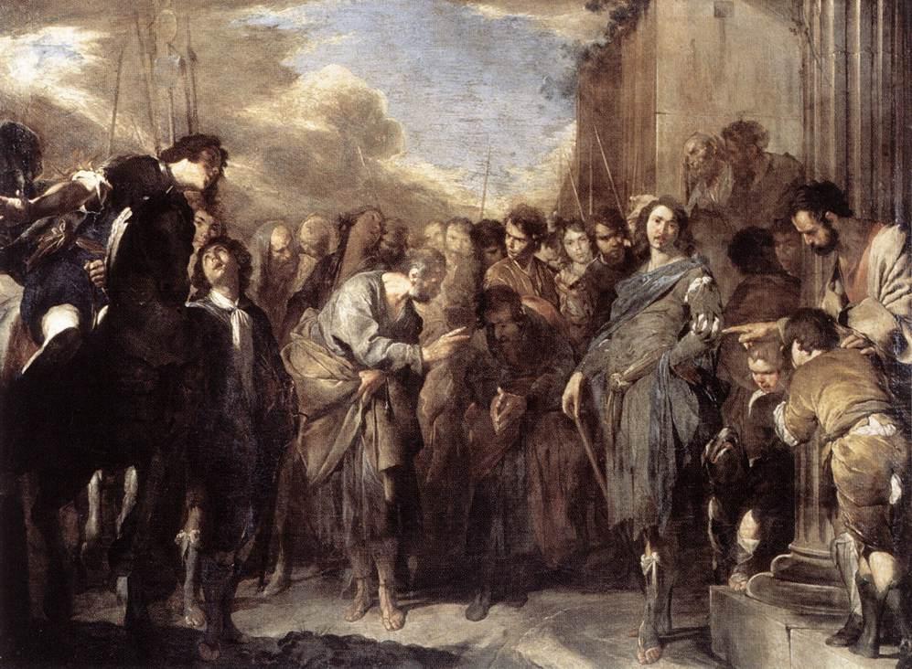 St. Peter & Cornelius - Cavallino 1640s