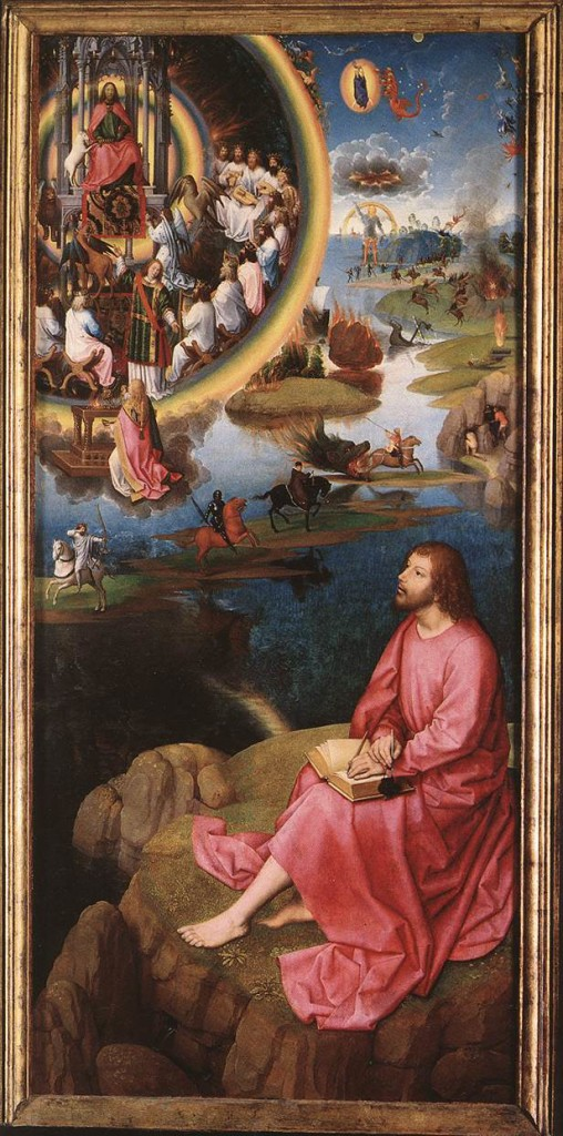 St. John's Vision - Memling 1474