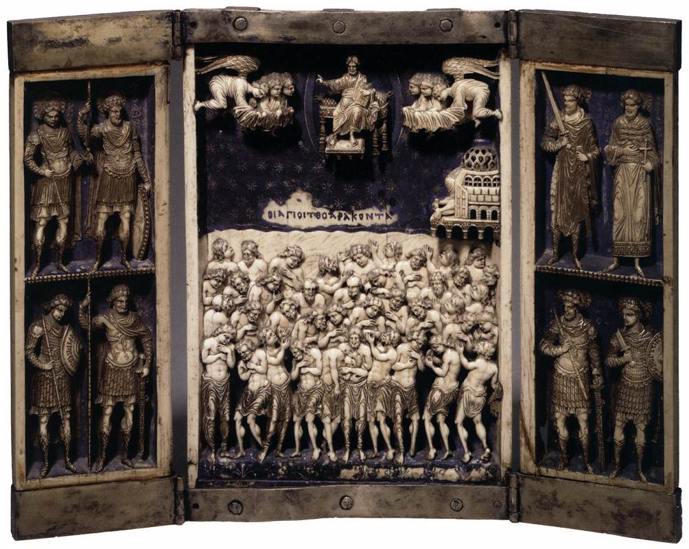 Forty Martyrs of Sebaste - Unknown Greek Master 1000 A.D.