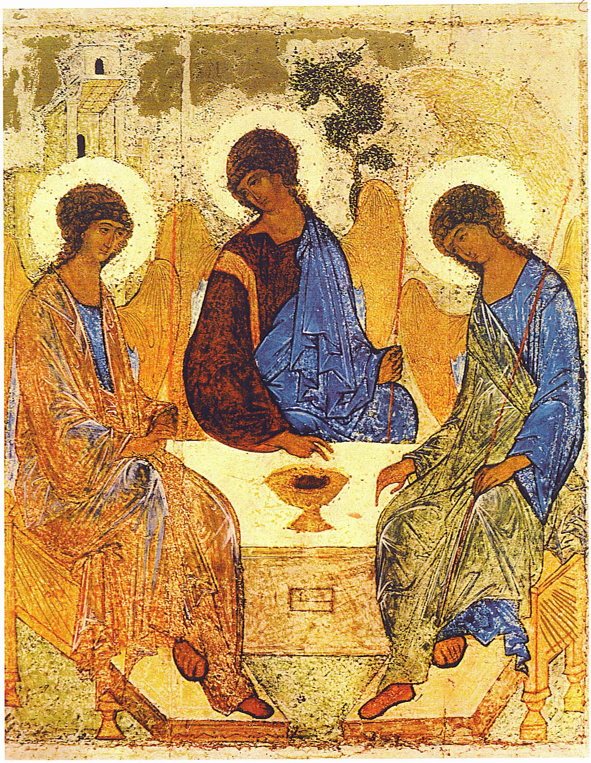 The Blessed Trinity - Rublev