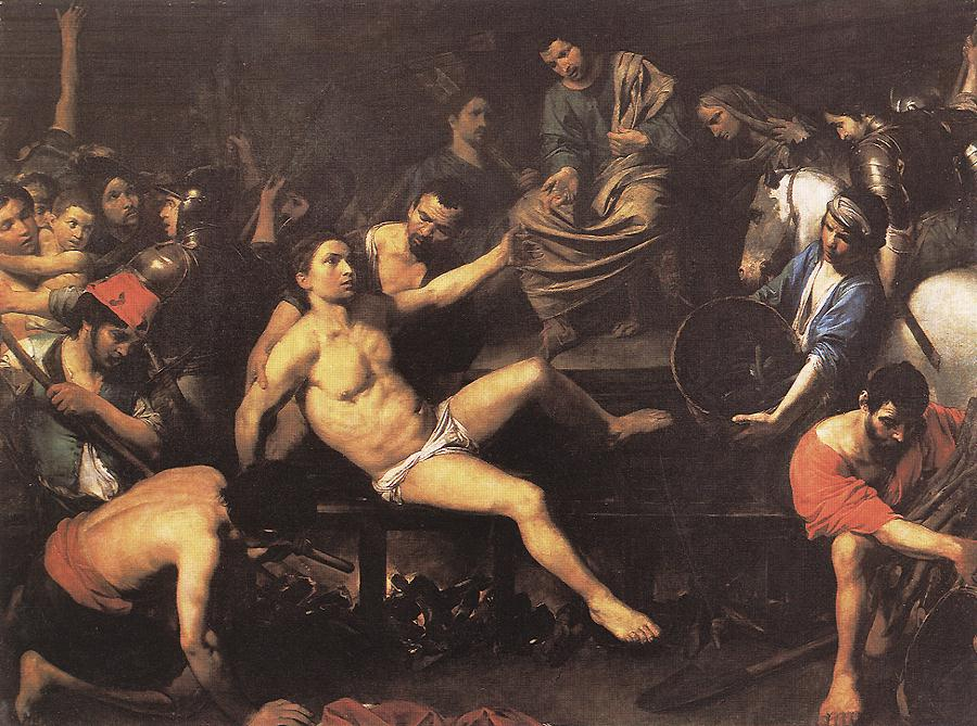 The Martyrdom of Laurence, Deacon