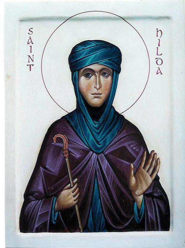 St. Hilda - Aidan Hart Icons