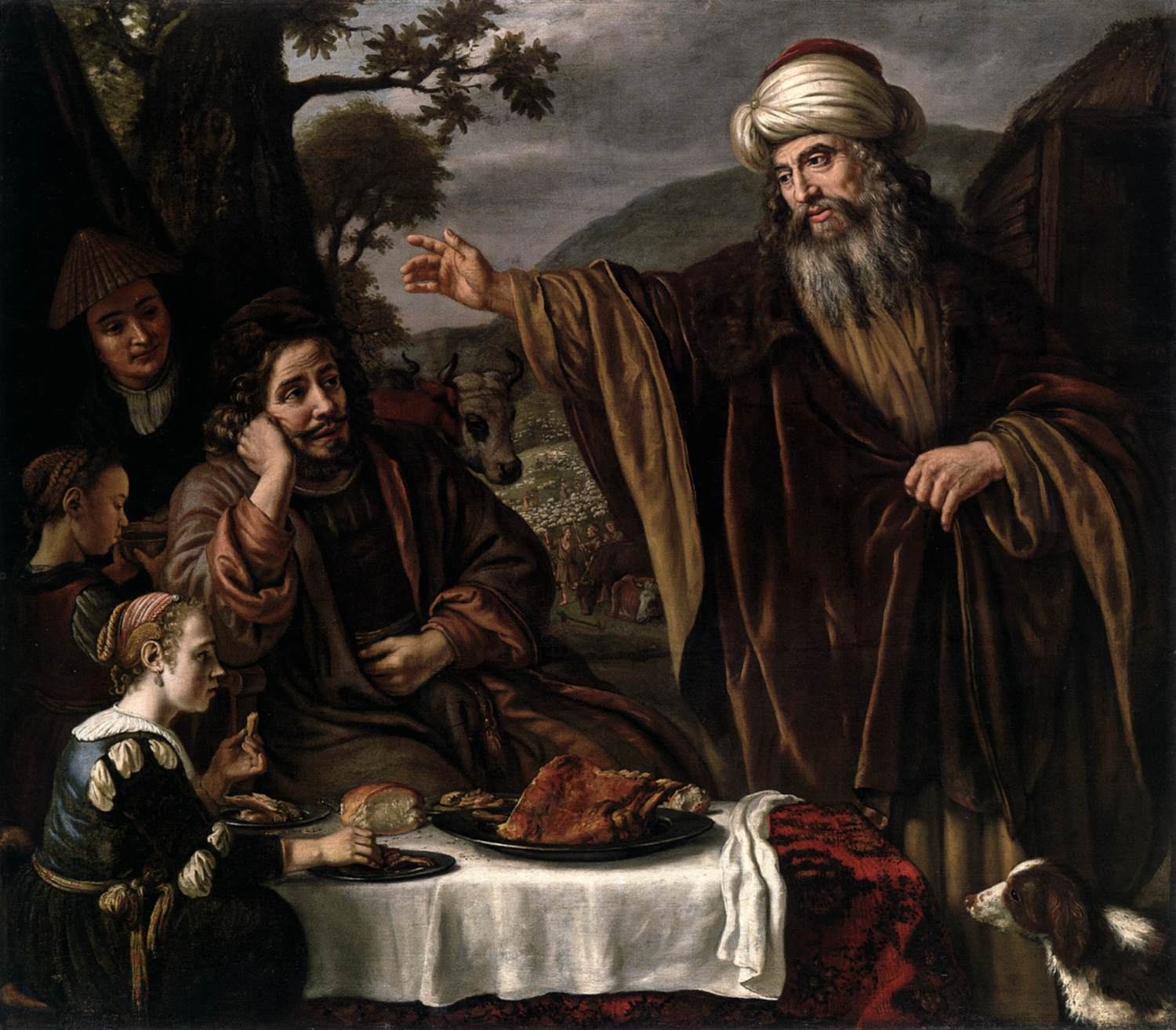 ABRAHAM PARTING WITH LOT - VICTORS 1655