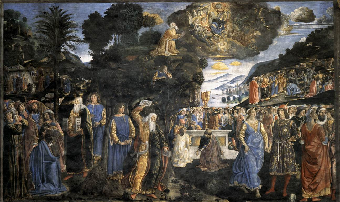 Law & the Golden Calf - Rosselli 1481