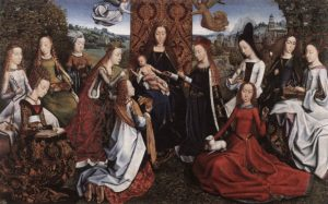 The Virgin and Female Saints