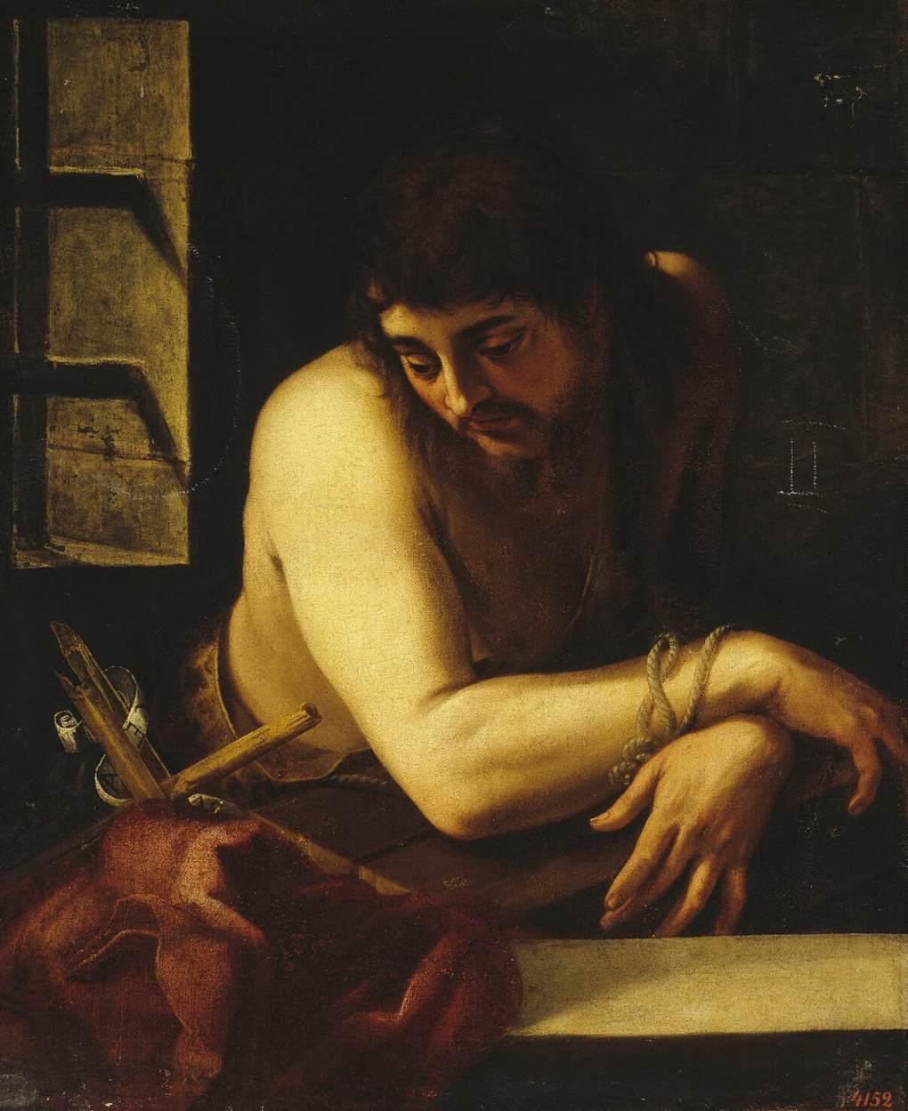 John Baptist in Prison - Navarrete 1565
