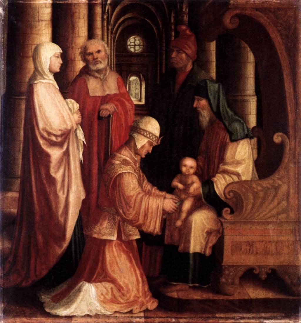 The Circumcision of Christ - Master ABM 1530