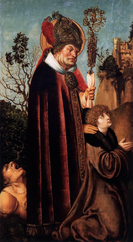 St. Valentine - Cranach 1502