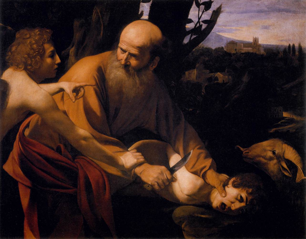 The Sacrifice of Isaac - Caravaggio 1601