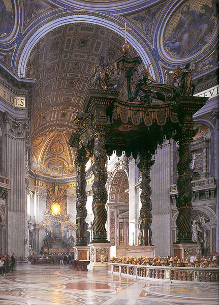 The High Altar - St. Peter's Rome
