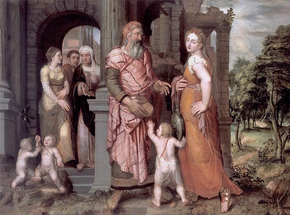 Expulsion of Hagar - Coxcie