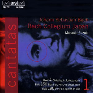 Volume 1 of the complete cantatas of J. S. Bach, performed by the Bach Collegium Japan