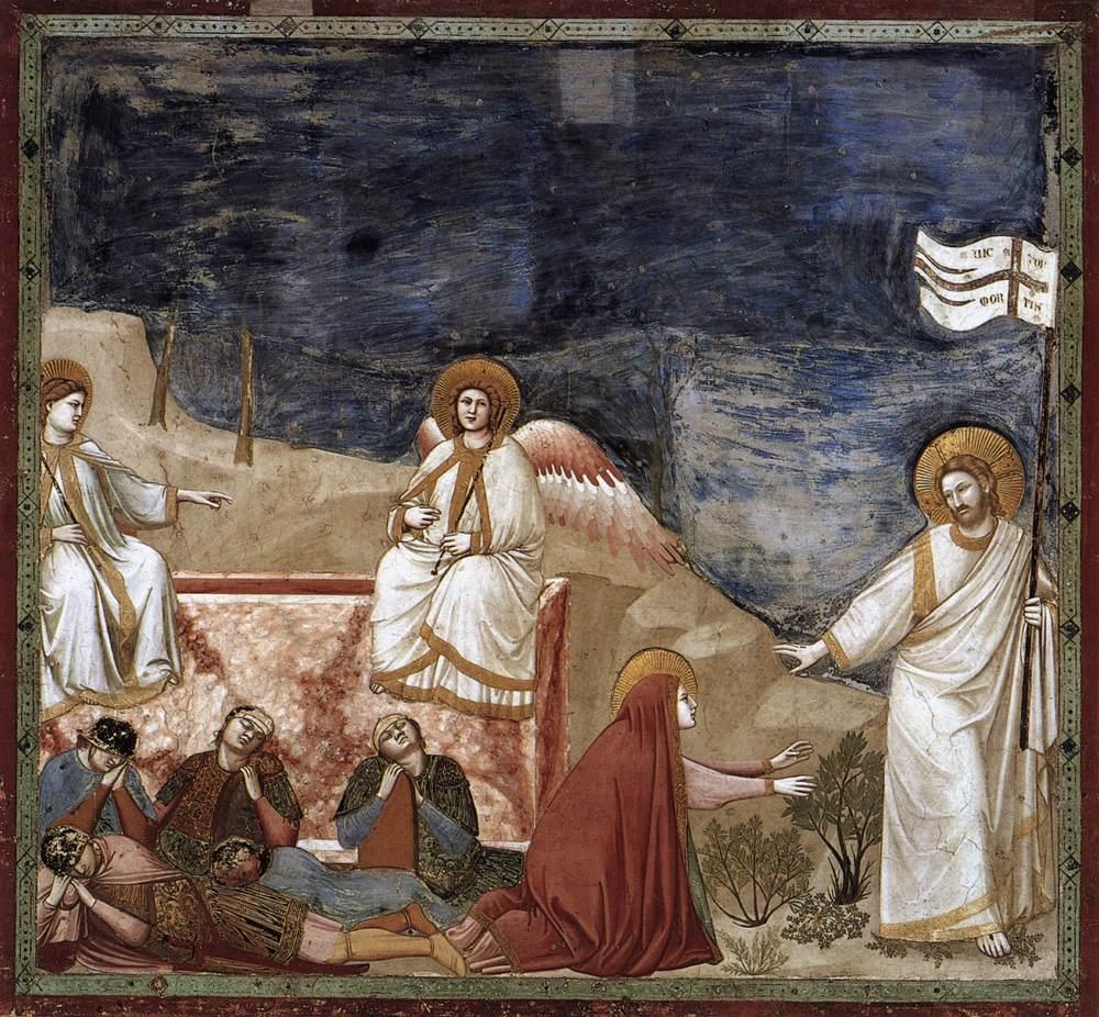 Christ's Resurrection - Giotto 1304
