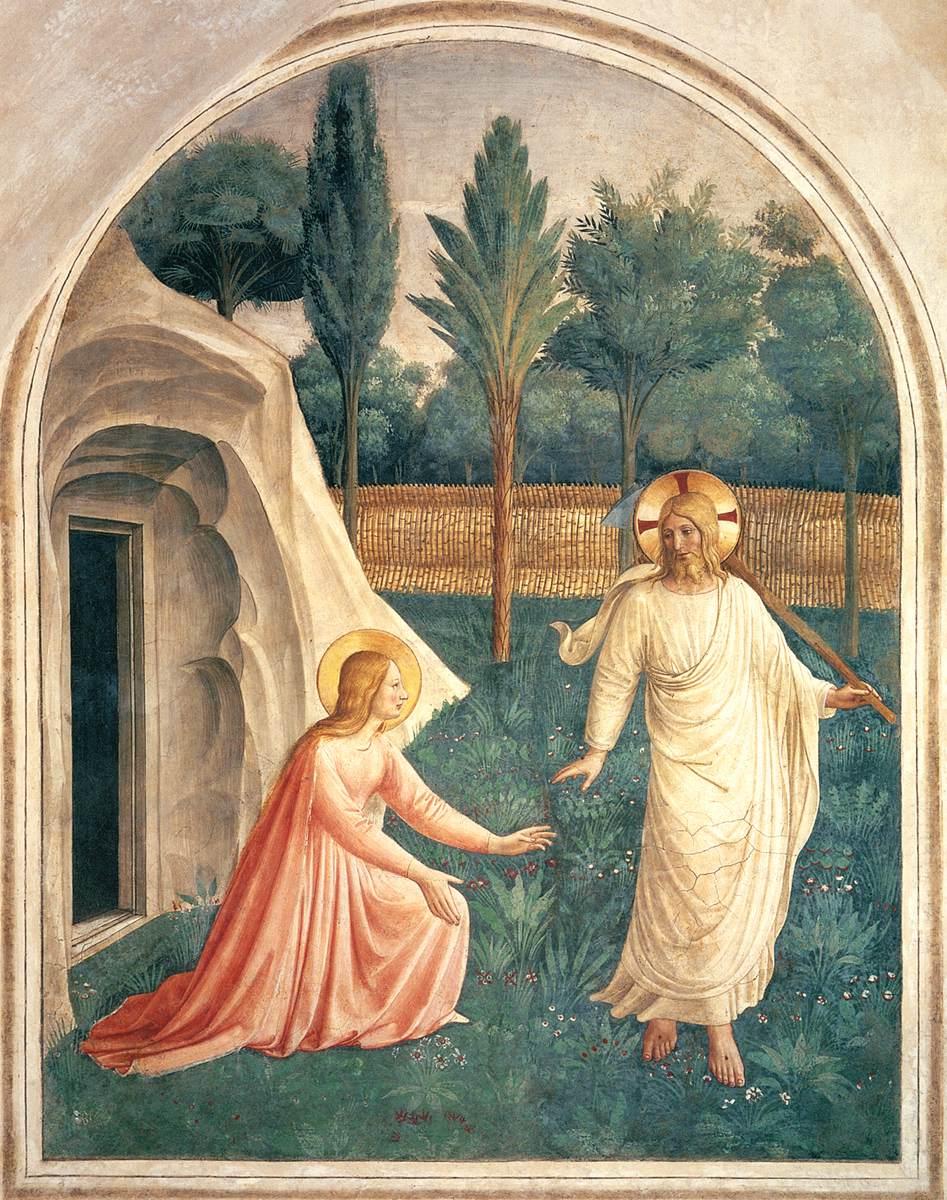 Noli Me Tangere - Fra Angelico 1440