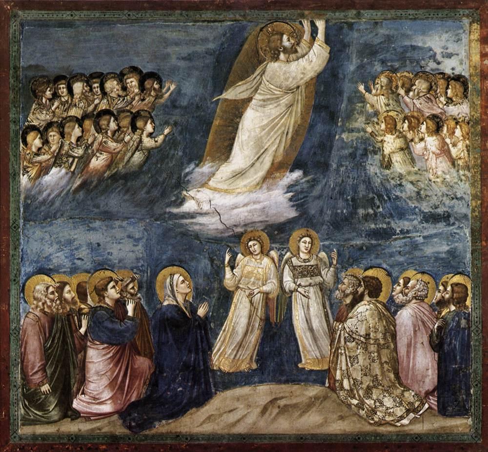 Ascension - Giotto 1304