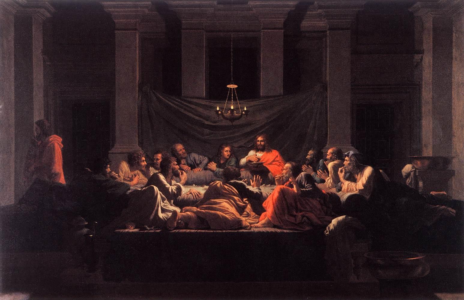 The Eucharist - Poussin 1647