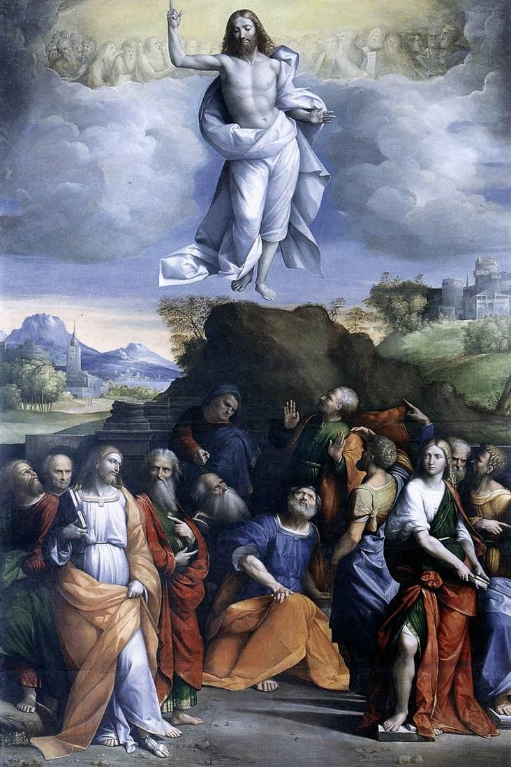 The Ascension of Christ - Garofalo 1510