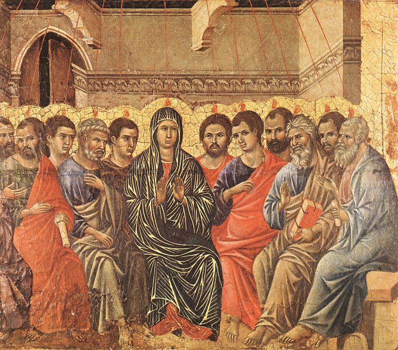 Pentecost - Duccio 1308