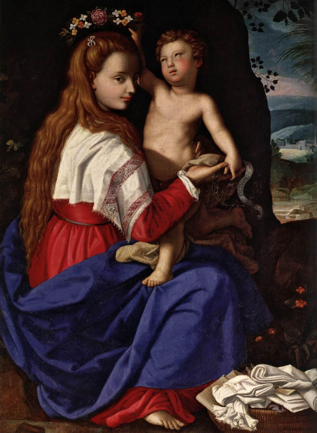 Allegory of the Church - Allori  1600