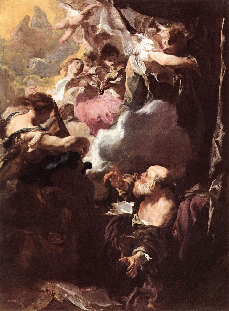 The Ecstasy of St, Paul - Liss  1628