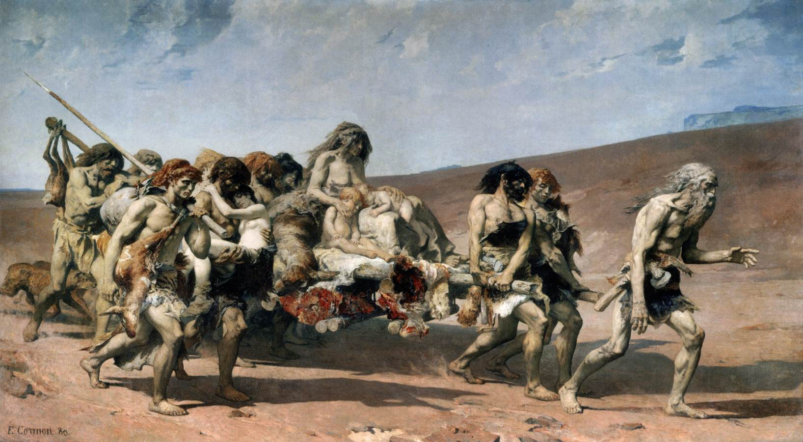 Cain - Fernand Cormon 1880