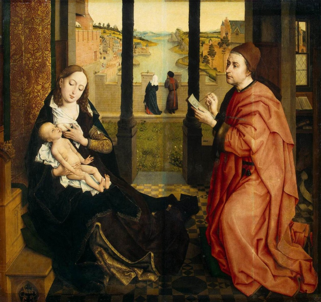 St. Luke & the BVM - Weyden 1435-1440