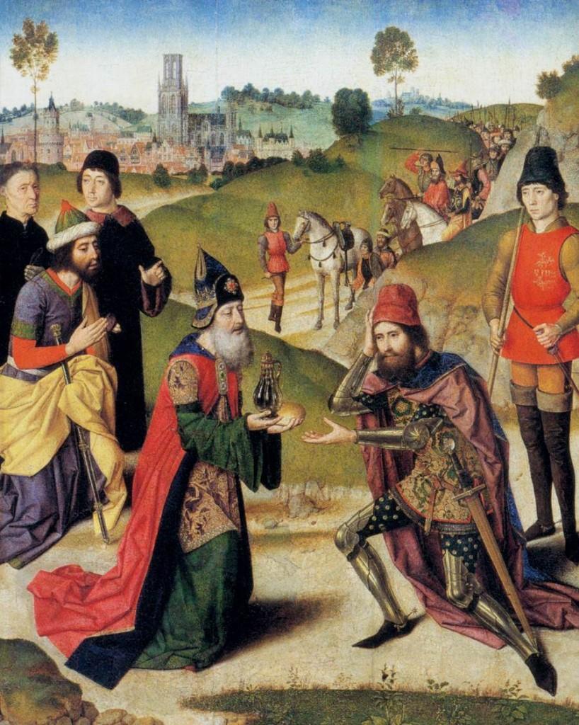 Abraham & Melchizedek - Bouts 1464