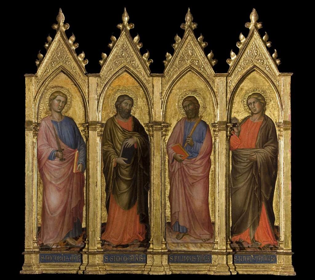 St. Simon, St. Philip, St. James the Less, & St. Jude - Martino 1415