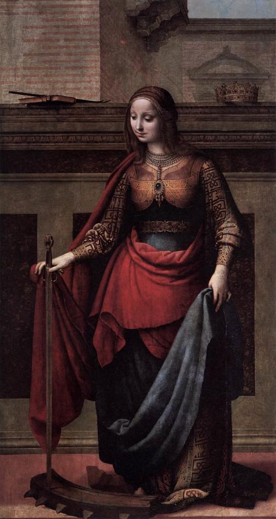 St. Catherine - De La Almedian 1505
