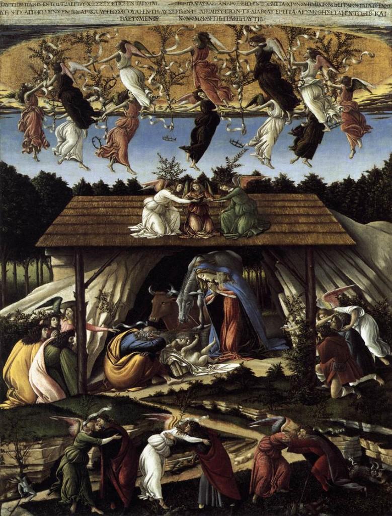 The Mystical Nativity - Botticelli 1500