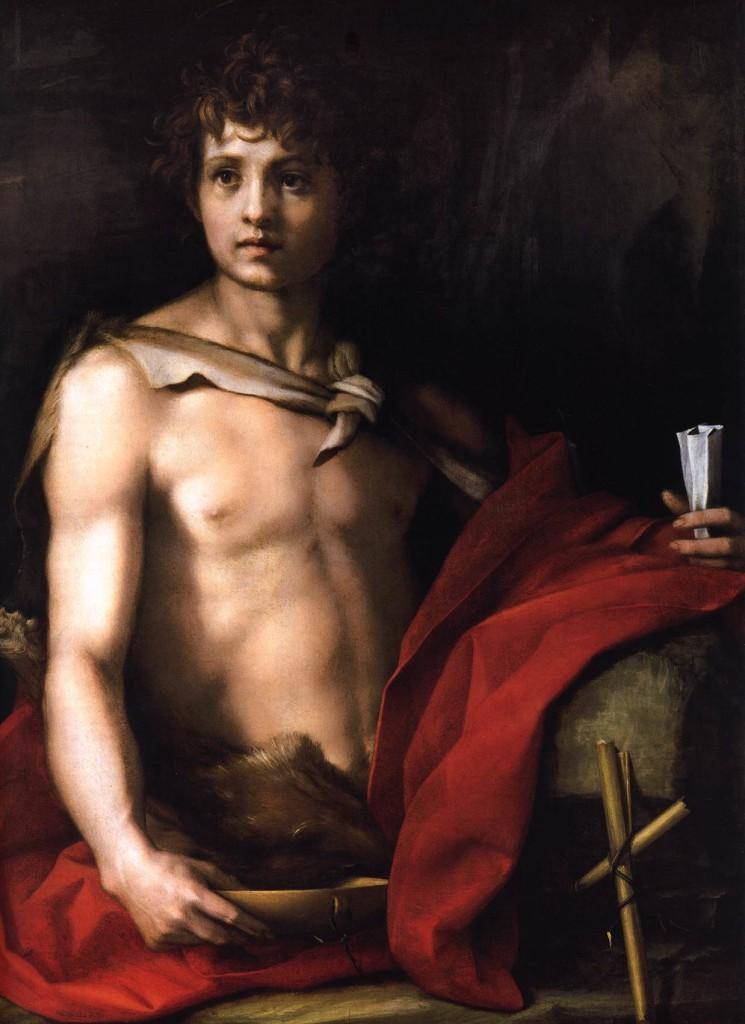 John Baptist - Andrea Del Sarto 1523