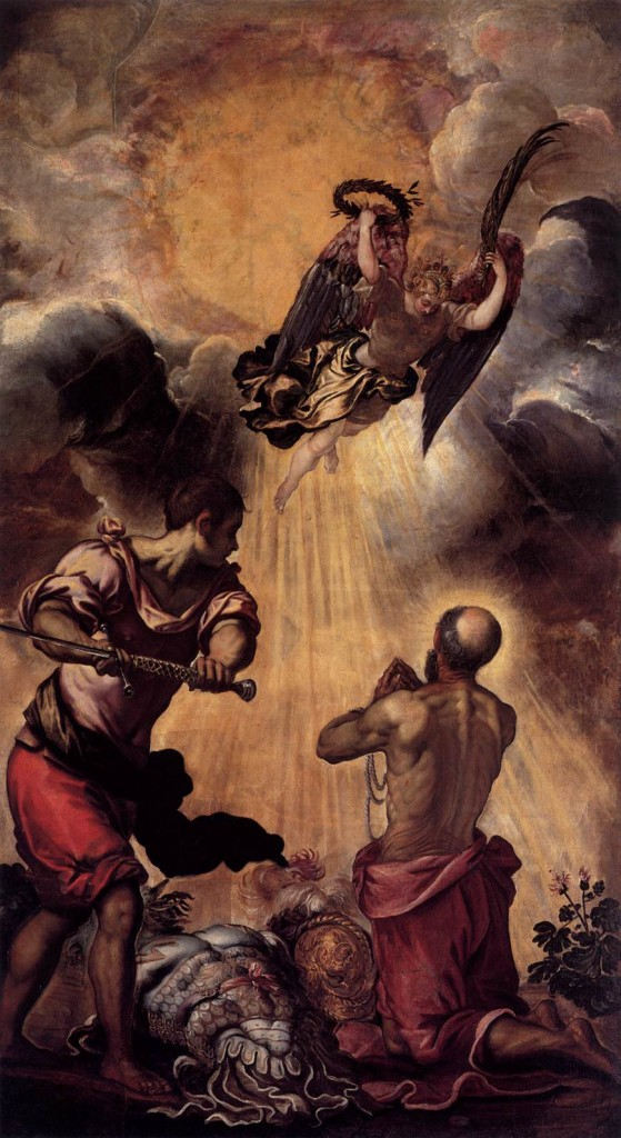 Martyrdom of St. Paul - Tintoretto 1556