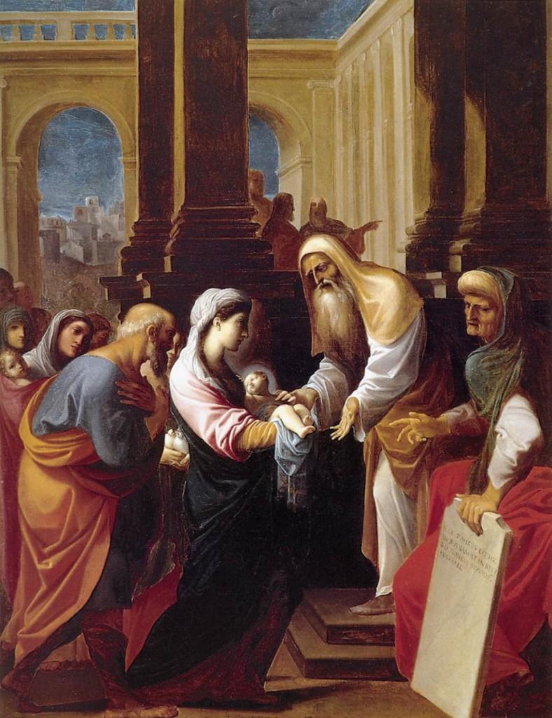 The Presentation - Carracci 1605