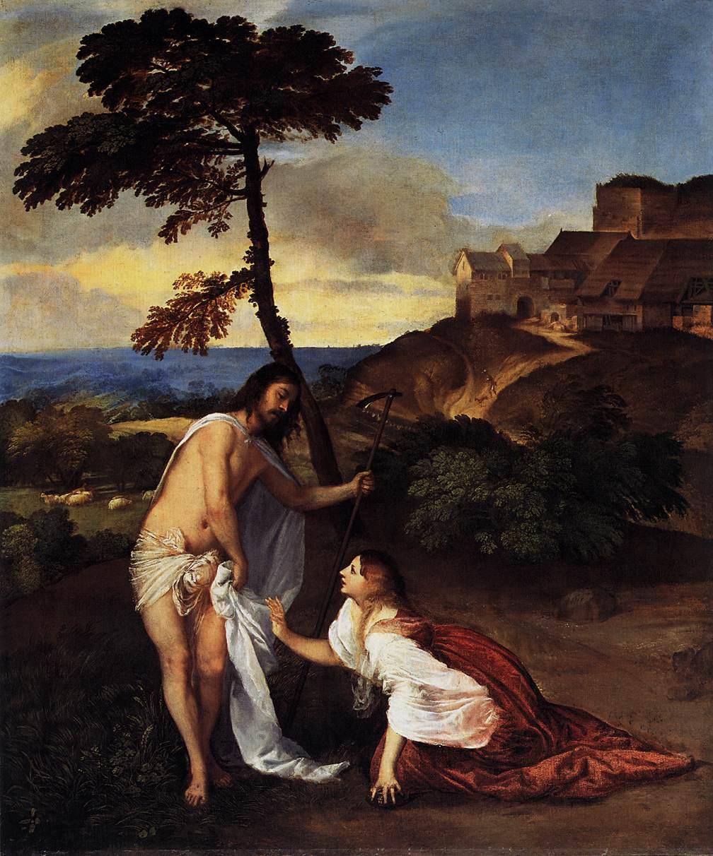 Noli me tangere - Tiziano 1511