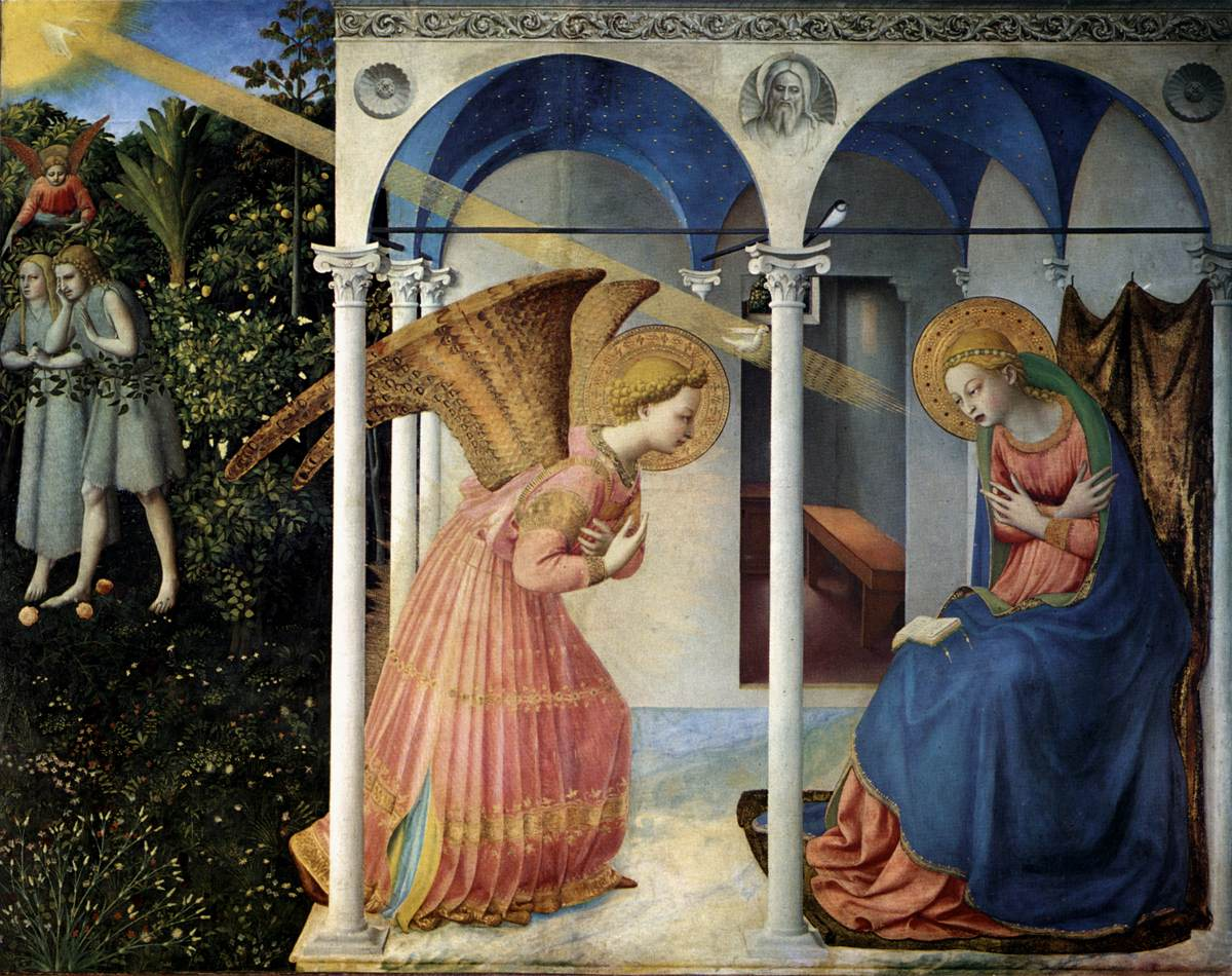 The Annunciation - Angelico 1430