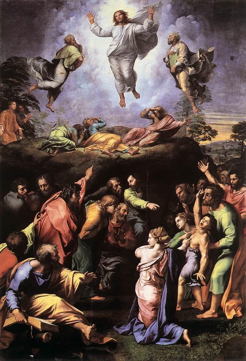The Transfiguration - Raffaello 1518