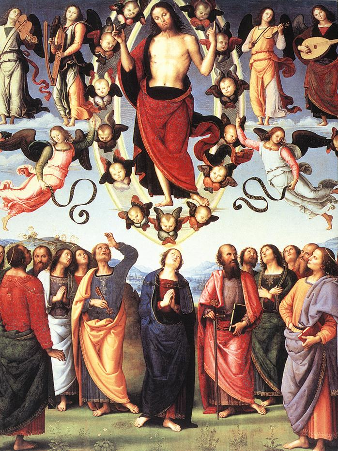 Ascension of Christ - Perugino - 1496
