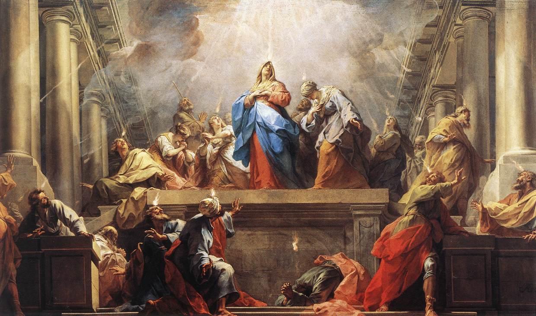 Pentecost - Restout 1732