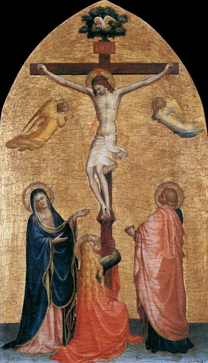 St. John & St. Mary at the Cross - Angelico 1419