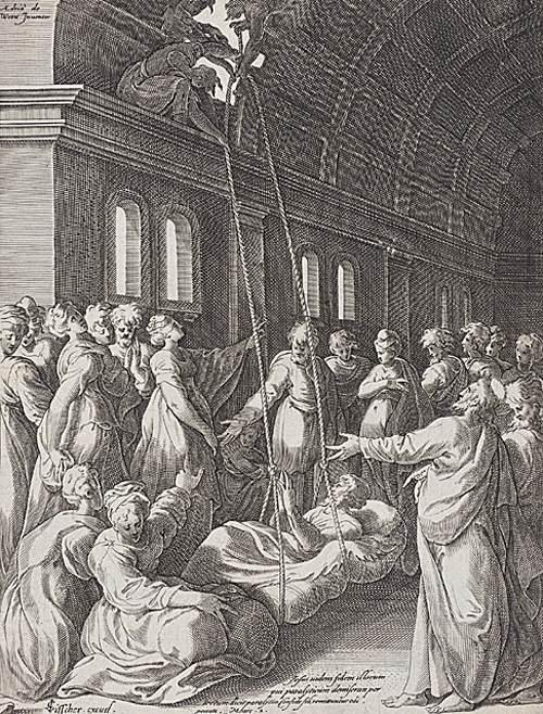 Jesus Healing the Sick - Visscher 1600