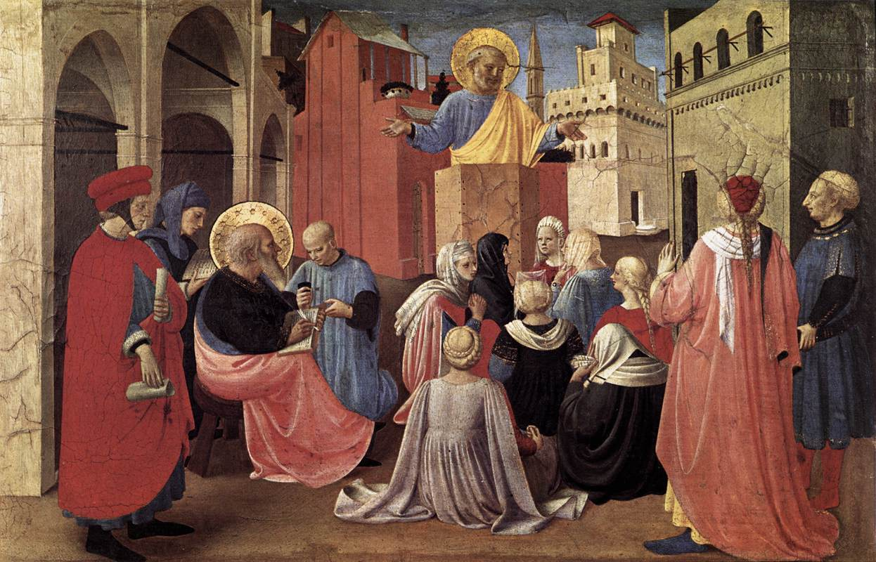 Peter Preaching - Angelico 1433
