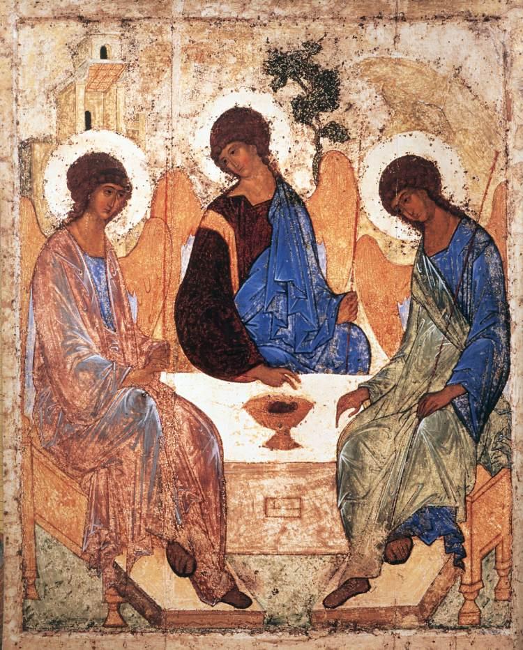 The Trinity - Andrey Rublyov  1411