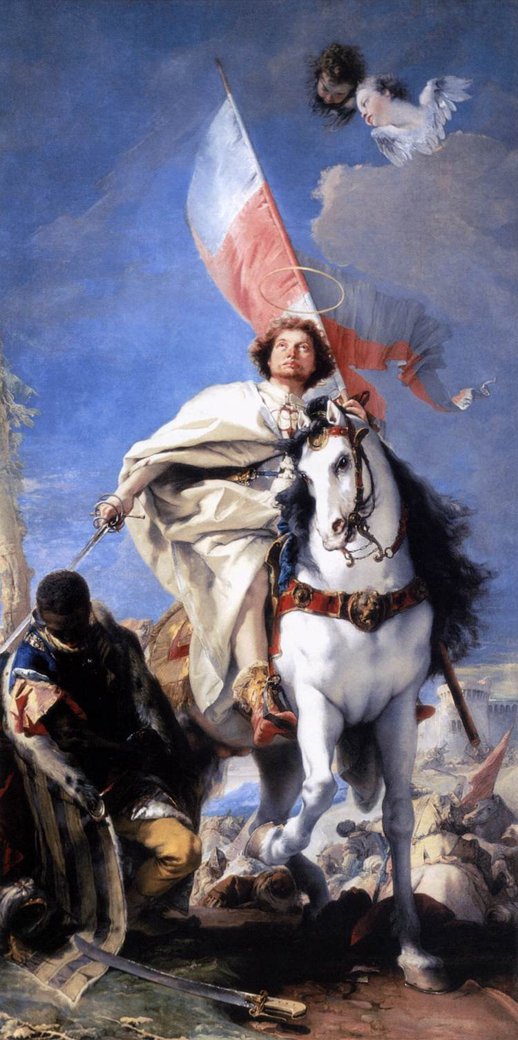 St. James the Great Conquering the Moors - Tiepolo 1749