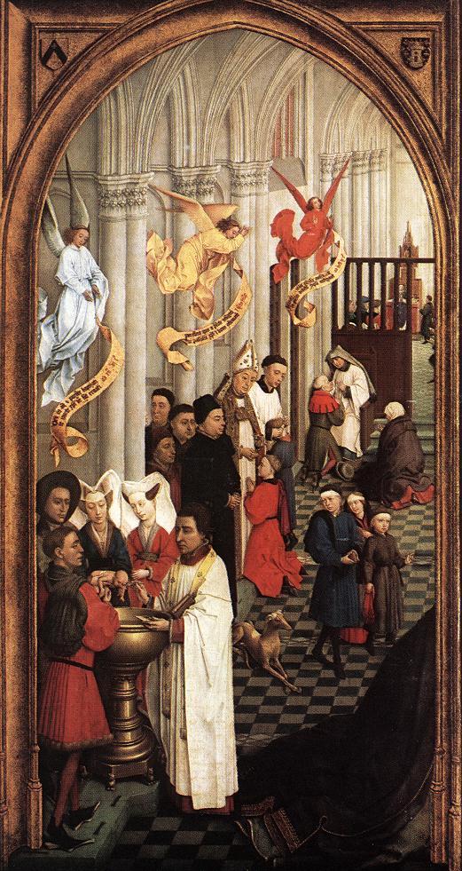 Seven Sacraments - Weyden 1445