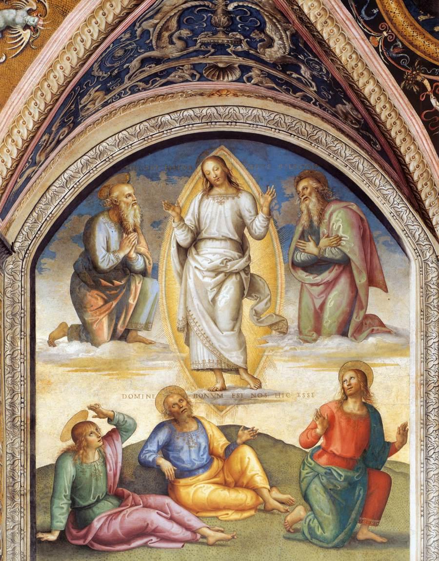 The Transfiguration - Perugino 1497