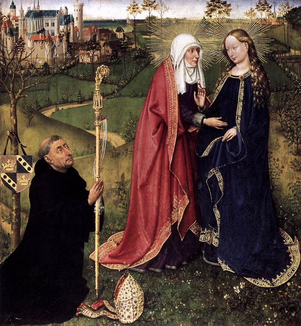 The Visitation - Daret 1433